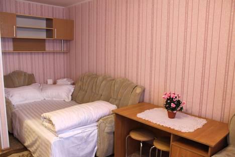 Сдается 1-комнатная квартира посуточно в Костанае, ул.Киевская, 22.