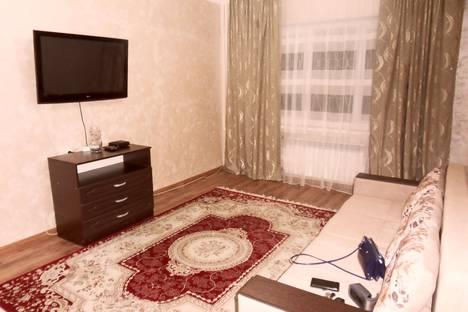 Сдается 2-комнатная квартира посуточно в Алматы, Толе би 143.