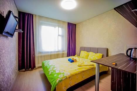 Сдается 1-комнатная квартира посуточно в Чебоксарах, Проспект Тракторостроителей, 52.