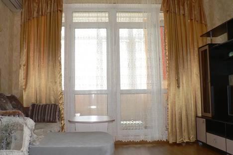 Сдается 1-комнатная квартира посуточно, село Дивноморское, Курортная улица, 3к3.