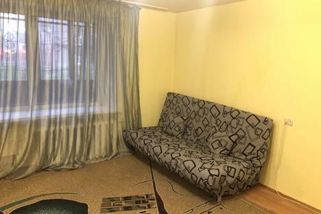 Сдается 2-комнатная квартира посуточно в Барнауле, улица Крупской, 93.