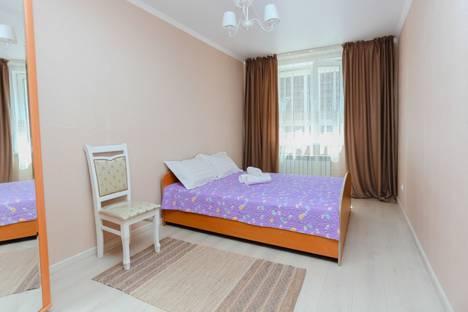 Сдается 2-комнатная квартира посуточно в Астане, улица Алматы, 11.