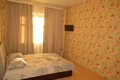 Сдается 1-комнатная квартира посуточно в Тюмени, Харьковская улица, 66.