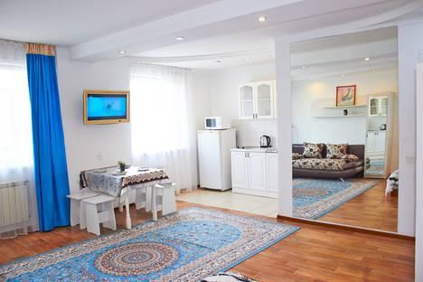 Сдается 1-комнатная квартира посуточно в Павлодаре, улица Кривенко, 81.