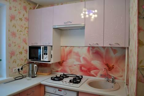 Сдается 1-комнатная квартира посуточно в Архангельске, улица Попова, 29.
