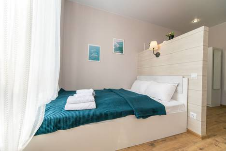 Сдается 1-комнатная квартира посуточно в Сочи, улица Волжская, 16.