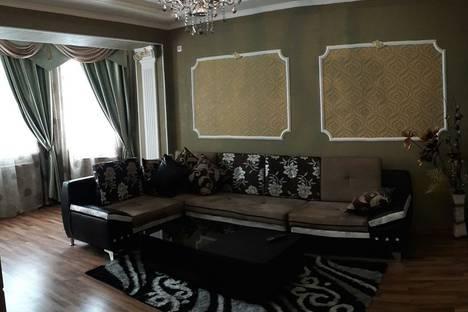 Сдается 2-комнатная квартира посуточно в Бишкеке, улица Т. Уметалиева, 98.