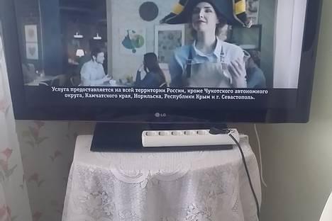 Сдается 1-комнатная квартира посуточно в Усинске, улица Молодежная, Д. 28.