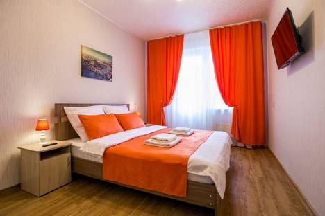 Сдается 2-комнатная квартира посуточно в Красноярске, улица Линейная, 88.