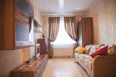 Сдается 1-комнатная квартира посуточно в Петрозаводске, улица Чапаева, 42.