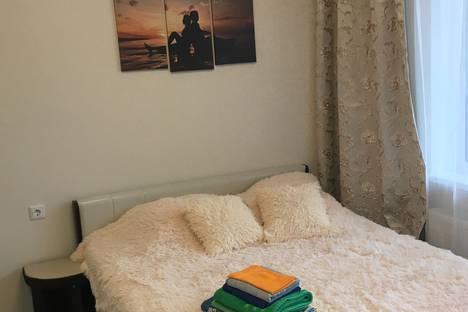 Сдается 1-комнатная квартира посуточно, Кудрово, улица Пражская, 13.