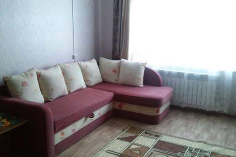 Сдается 1-комнатная квартира посуточно в Великом Устюге, улица Пушкариха, 12а.