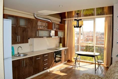 Сдается 1-комнатная квартира посуточно в Калуге, переулок Суворова, 5.