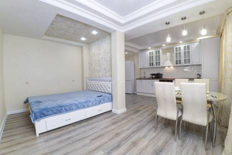 Сдается 1-комнатная квартира посуточно в Казани, микрорайон Горки-3, Дубравная улица, 1/104.