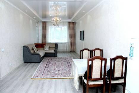 Сдается 2-комнатная квартира посуточно в Алматы, улица Навои, ЖК Шахристан.