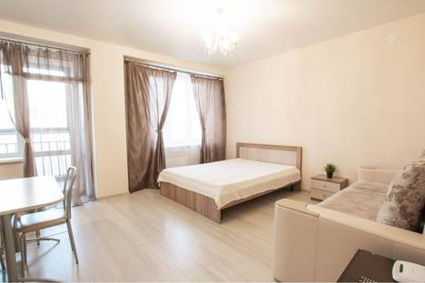 Сдается 1-комнатная квартира посуточно в Красноярске, Взлетная улица, 7д.