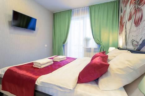 Сдается 2-комнатная квартира посуточно в Красноярске, улица Конституции СССР, 23.