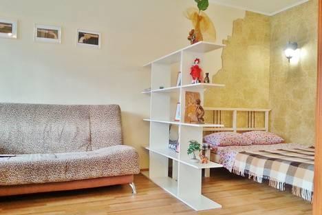 Сдается 1-комнатная квартира посуточно в Омске, Перелета, 20.