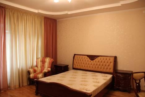 Сдается 3-комнатная квартира посуточно в Казани, ул. Сибгата Хакима, 31.