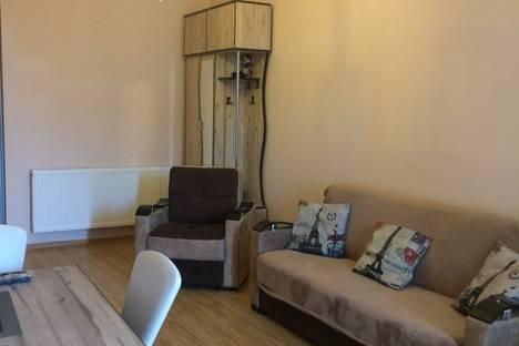 Сдается 2-комнатная квартира посуточно в Тбилиси, улица Церетели 45.
