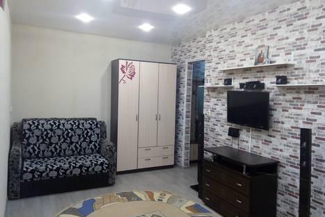 Сдается 1-комнатная квартира посуточно в Шерегеше, улица Гагарина, дом 24.