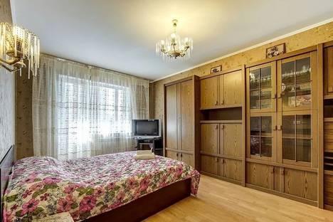Сдается 1-комнатная квартира посуточно в Санкт-Петербурге, улица Коллонтай, 30к2.