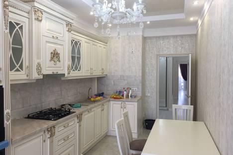 Сдается 3-комнатная квартира посуточно в Бишкеке, улица Т. Уметалиева, 98.