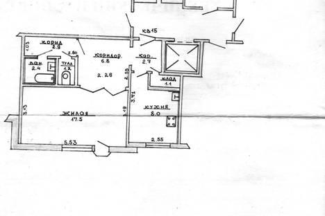 Сдается 1-комнатная квартира посуточно в Лиде, улица Качана, 12.