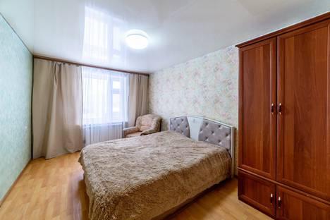 Сдается 3-комнатная квартира посуточно в Казани, улица Бондаренко, 22.
