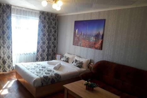Сдается 1-комнатная квартира посуточно в Талдыкоргане, Кабанбай батыра 75/89.