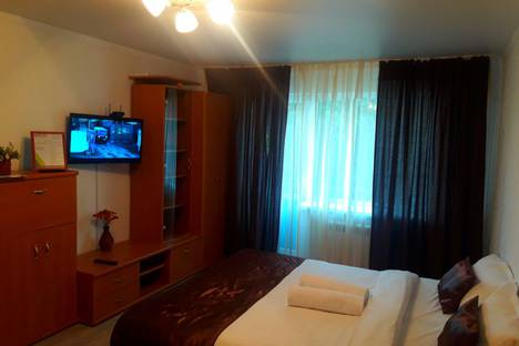 Сдается 1-комнатная квартира посуточно в Талдыкоргане, улица Кабанбай батыра, 60.