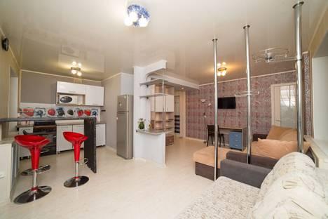 Сдается 1-комнатная квартира посуточно в Челябинске, проспект Победы, 173.