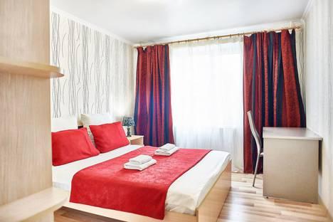 Сдается 2-комнатная квартира посуточно, проспект Ленина, 116.