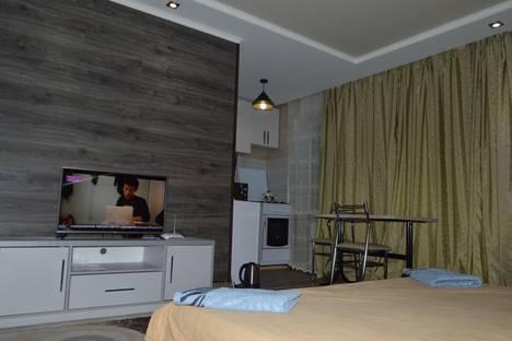 Сдается 1-комнатная квартира посуточно в Бишкеке, проспект Чуй, 125.