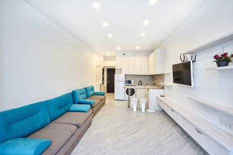 Сдается 1-комнатная квартира посуточно в Береговом (Кастрополе), Алупка, улица Олега Кошевого, 7.