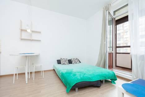Сдается 1-комнатная квартира посуточно, Кудрово, Центральная улица, 54 корпус 1.