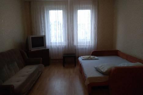 Сдается 1-комнатная квартира посуточно в Подольске, улица Академика Доллежаля 33.