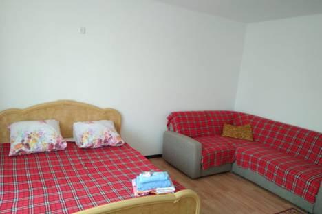 Сдается 1-комнатная квартира посуточно в Актобе, улица Ораза Татеулы, дом 4.