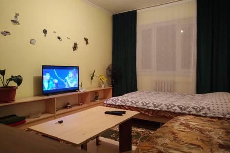 Сдается 1-комнатная квартира посуточно в Бишкеке, Первомайский район.