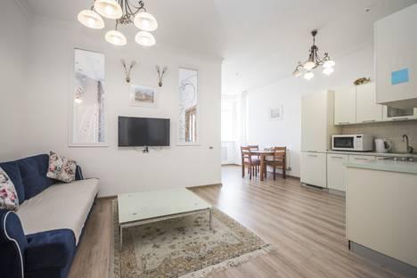 Сдается 2-комнатная квартира посуточно в Алматы, Алматы.