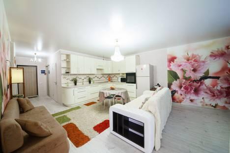 Сдается 3-комнатная квартира посуточно, улица Пугачева Е. И, 49а.