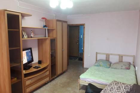 Сдается 1-комнатная квартира посуточно в Казани, улица Татарстан, 45.