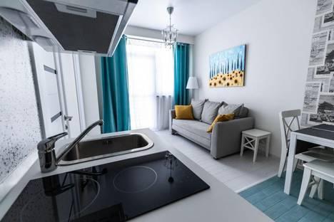 Сдается 2-комнатная квартира посуточно в Адлере, улица Станиславского, 1а.