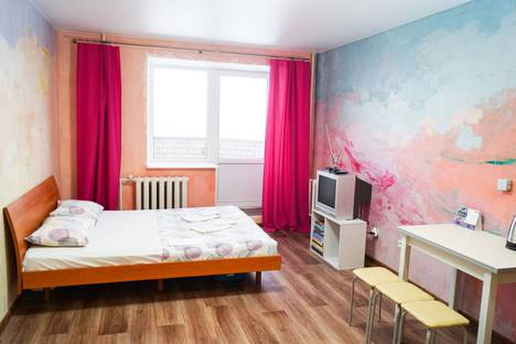 Сдается 1-комнатная квартира посуточно в Вологде, Ягодная улица, 10.