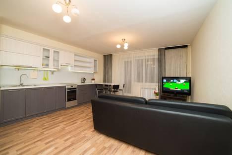 Сдается 3-комнатная квартира посуточно в Челябинске, Университетская набережная 64.