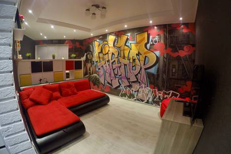 Сдается 2-комнатная квартира посуточно в Кировске, Олимпийская улица, 42.