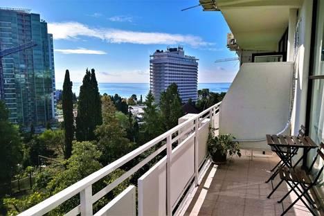 Сдается 2-комнатная квартира посуточно в Сочи, Курортный проспект 75/1.