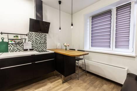 Сдается 1-комнатная квартира посуточно в Обнинске, улица Курчатова, 27/1.