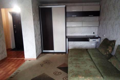Сдается 1-комнатная квартира посуточно в Новосибирске, улица Дуси Ковальчук, 266/1.