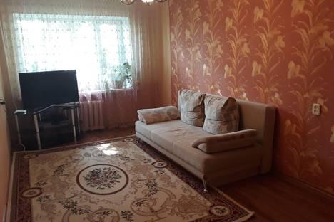 Сдается 1-комнатная квартира посуточно в Костанае, 5 микрорайон, 12.